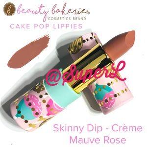3/$15 Beauty Bakerie Cake Pop Lippies Skinny Dip